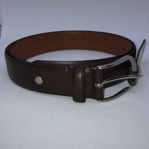 Boconi Leather Men's Belt, Size 40